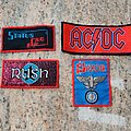 Vintage woven patches