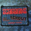 Scorpions - Blackout Tour Patch