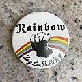 Rainbow - Long Live Rock n Roll badge