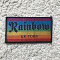 Rainbow - UK Tour Patch