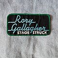 Rory Gallagher - Stage Struck patch