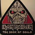Iron Maiden Book of Souls tour patch