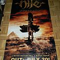 Nile - Ithyphallic - Big and heavy PVC Banner - 220x100