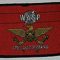 W.A.S.P. - The last command - Woven patch