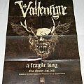Vallenfyre - A fragile king - Promo-poster