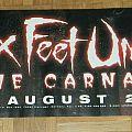Six Feet Under - True carnage - Promo banner