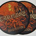 Carnage - Dark recollections - Round woven patch