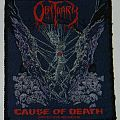 Obituary - Cause of death - Woven Patch
