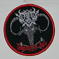 Old - Down with the nails - Woven Patch