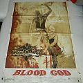 Blood God - No brains, but balls - Promo poster