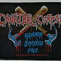 Cannibal Corpse - Hammer smashed face - Woven patch