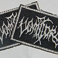 Vomitory - Logo - very small spacefiller patch