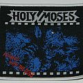 Holy Moses - Finished with the dogs - Woven Patch