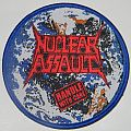 Nuclear Assault - Handle with care - Round woven patch