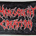 Malevolent Creation - Logo Patch - Official Embroidered