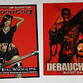 Debauchery / Blood God - Sticker