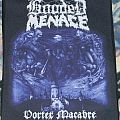 Hooded Menace - Vortex macabre - Backpatch