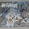 Witchery - Dead, hot and ready - signed Promo CD