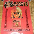 Saxon - Killing ground - Promo poster