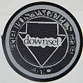 Downset - Logo - Round woven patch