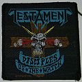 Testament - Disciples of the watch - Woven patch
