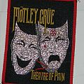 Mötley Crüe - Theatre of pain - Woven patch