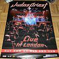 Judas Priest - Live in London - Promo poster