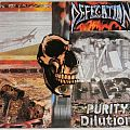 Defecation - Tape / Vinyl / CD / Recording etc - Defecation - Purity dilution - Orig first press 1989