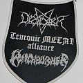Witchburner / Desaster - Teutonic Metal Alliance - Woven patch