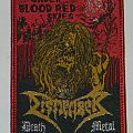 Dismember - Under blood red skies - Woven patch