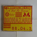 Biohazard - A lot to learn - Single CD Tape / Vinyl / CD / Recording etc