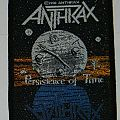 Anthrax - Persistence in time - Woven patch