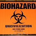 Biohazard - Uncivilisation - Promo poster