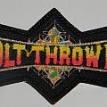 Bolt Thrower - Shaped logo patch