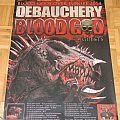 Debauchery - Tourposter 2014