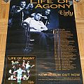 Life of Agony - Ugly - Tour poster/Promo poster