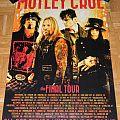 Mötley Crüe - Tourposter # 2