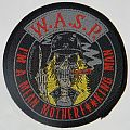 W.A.S.P. - Mean man - Round woven patch