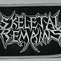 Skeletal Remains - Logo - Embroidered patch