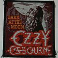 Ozzy Osbourne - Bark at the moon - Woven Patch