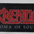 Kreator - Coma of souls - Woven patch Stripe
