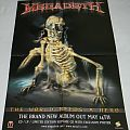 Megadeth - The world needs a hero - Promo poster