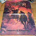 Krisiun - Conquerors of armgageddon - Promo poster
