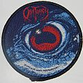 Obituary - The Eye / Cause of death - Round woven patch