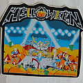 Helloween - Other Collectable - Helloween - Live in the U.K. - Sticker