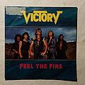Victory - Tape / Vinyl / CD / Recording etc - Victory - Feel the fire - Single