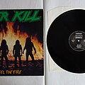 Overkill - Tape / Vinyl / CD / Recording etc - Overkill - Feel the fire - orig.Firstpress LP