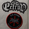 Entombed - Patch - L.G.Petrov - Official Memorial Patch