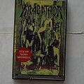 Krabathor - Tape / Vinyl / CD / Recording etc - Krabathor / Pandemia - The Rise of brutality / Pain - Tape