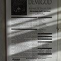 Demigod - Other Collectable - Demigod - Slumber of sullen eyes - Re-release Promo Flyer